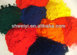 iron oxide red/yellow/green/brown/orange various colors good heat resistance