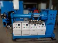 SILICONE RUBBER EXTRUDER MACHINE WITH GOOD TEMPERATURE CONTROL