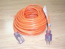 Round orange 3x16 AWG Power Extension Cord