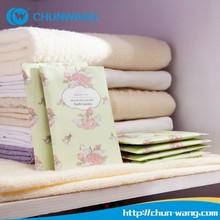 Home use air freshener 20g/bag Closet Air Fragrance,Hang paper closet air perfume for clothes
