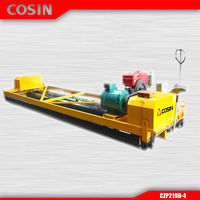 Cosin electric power concrete machine road paving equipment CZP219D-4