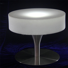 High Quality Glow Color Light LED bar Table