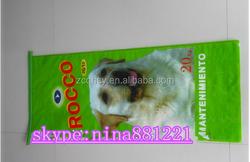 feed bag for dog food 20kg 25kg plastic animal feed bags