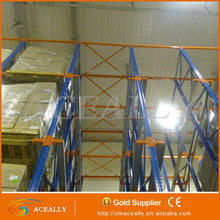 Drive in pallet racking for storage industrial