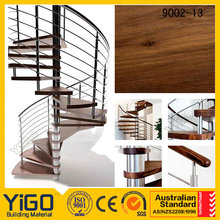 stainless steel metal railing steel spiral stairs or wrought iron spiral staircase prices