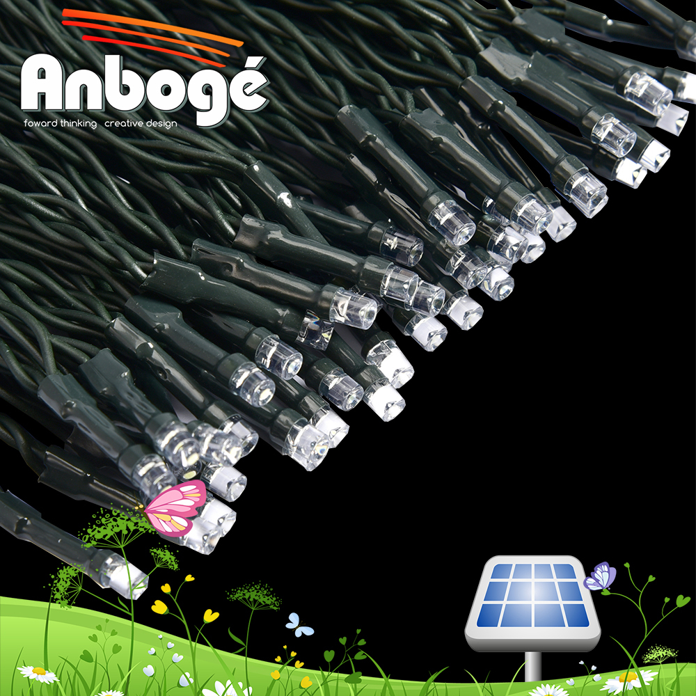 Single Color String Lights : Rgb Or Single Color Solar Fairy Light Ip44 Wedding Party Led String 5m 50leds Solar Micro Led ...