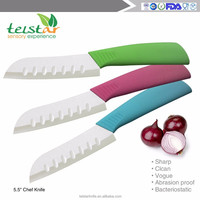 "2015 Ultra sharp Top quality assured 5.5 ""bread Ceramic chef knivesSantoku knife"