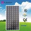 Dependable performance 260wp monocrystalline round solar panel