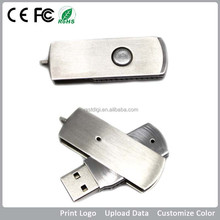 Bulk cheap custom swivel metal usb disk with key chain/swivel metal mini pormo usb pen drivers/metal usb flash drive
