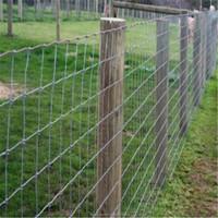Easy install metal livestock farm fence panel