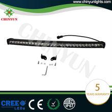 150w new projector reflector Straight black led light bar mounts for trucks