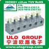 Pitch 5.0mm Terminal block screwless type from China ULO