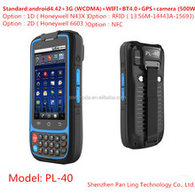 PL40 AI079 4 inch rugged 3G phone MTK6572 IP65 dual core cell phone Waterproof