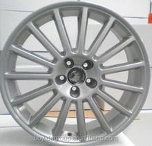 F861503 silver /black car alloy wheels 16 14 15 inch car rims 5x100/112
