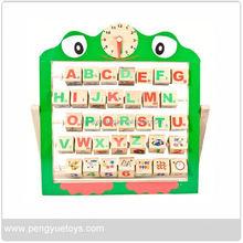 Wholesale Eco-friendly wooden alphabet rack