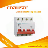 SB1-63( dz47-63 ) China suppliercircuit breaker mcb 4p 380v with CE certificate