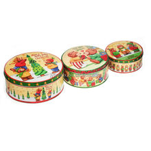 Recyclable Feature customized factory tin can/tin case/metal round Decorated Metal Box