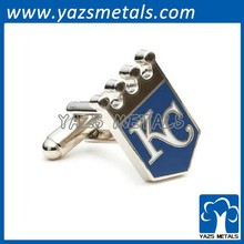 metal gifts and crafts cufflinks with initials