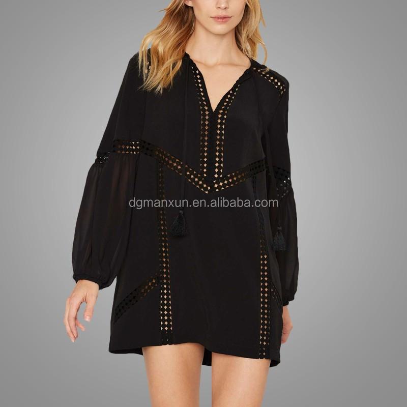 2016 China Supplier Black Women Mini Dress Wholesale Ladies Clothing Online2.jpg