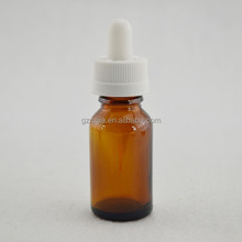 high quality amber glass bottle for essential oil glass drips bottle