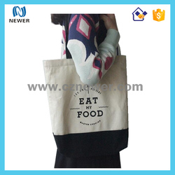 Nice funky updated price fashion cotton tote shopping bag
