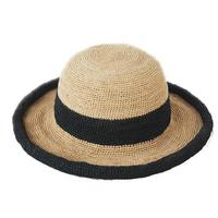 High quality new fashion custom girls raffia straw hats