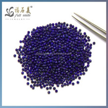 Loose Natural lalpis Faceted Round beads 2mm 14 inches semi precious gems
