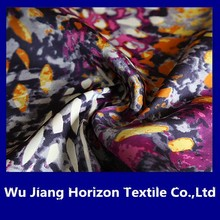 100% polyester digital printing chiffon fabric for woman dress