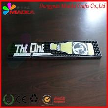 Drinkpromo branded bar mat PVC rubber bar mat