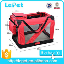 small dog carrier/soft pet carrier/bike dog carrier