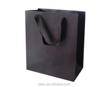 Cotton handle paper shopping bag packaging bag for suits