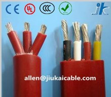 14AWG~1AWG PVC/RUBBER Insulation 3/4 core 1.5mm2~95mm2 flat resun sp 400lv submersible pump wire/cable