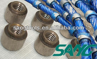 high quality diamond wire saw,diamond wire for cutting marble and granite