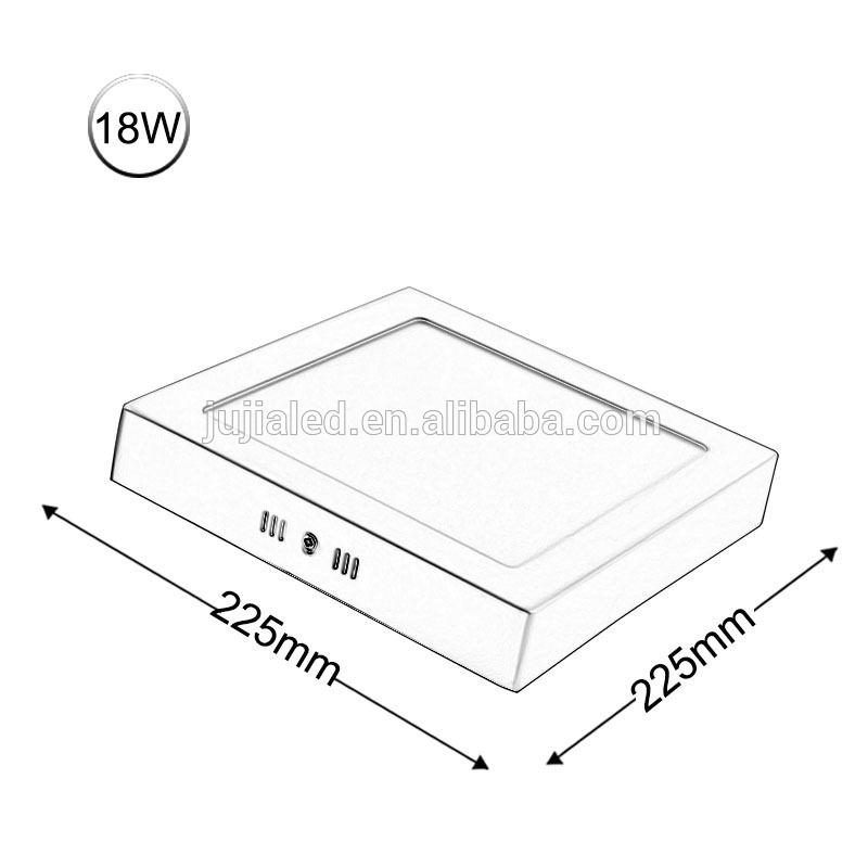 5w 10w 15w 20w rgb dimmable high brightness led flat panel