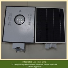 Integrated Solar panel/battery/controller/led all in one solar led street light