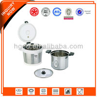 concealed micro pressure valve stainless steel thermal soup pot