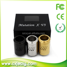 CXJ VAPE newest e cig atomizer mutation x v5 ,mutation x v4 latest version 510 spring connector vaporizer pen hot selling