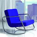 Mecedora silla tela forma de letra sillas / sala de estar, sofá cama