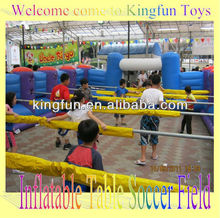 KF inflatable table soccer field