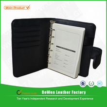 PU leather and nylon covers for notebook diary