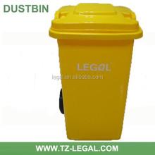 HDPE tzlegal trash container waste bin100liter plastic garbage bin