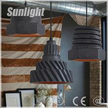 American modern industrial design hot sale vintage restaurant/bar pendant lamp/light