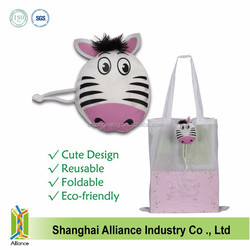 Animal shaped Reusable Tote Foldable Recycle Bag