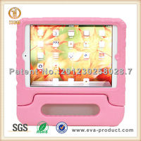shockproof EVA cover case with stand handle for mini2 ipad case