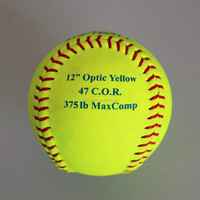12inch leather&PU Core Fastpitch Game Softball&ASA Approved