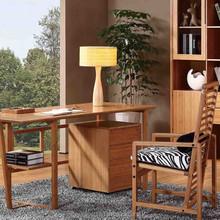 Bamboo desk,secretary desk,modern office secretary desk table