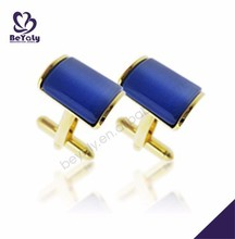 Blue ceramic wholesale for official shirt cufflinks gold