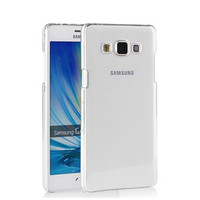 Transparent clear crystal plastic hard back case cover for samsung galaxy e7