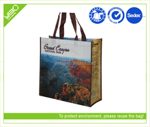Wholesale from china suppliers customized rpet nonwoven fabric shopping bag