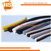 Different size and color EPDM foam rubber cord
